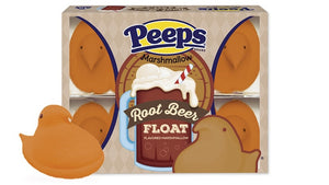 Peeps Root Beer Float Marshmallow Chicks