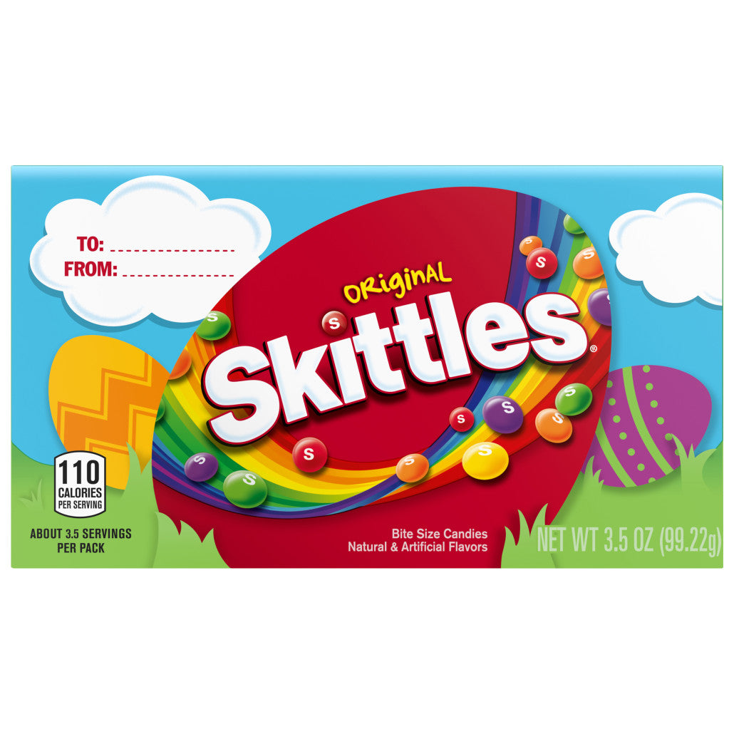 Easter Skittles Theatre Box