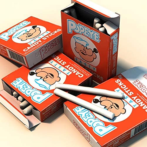 Popeye Candy Sticks