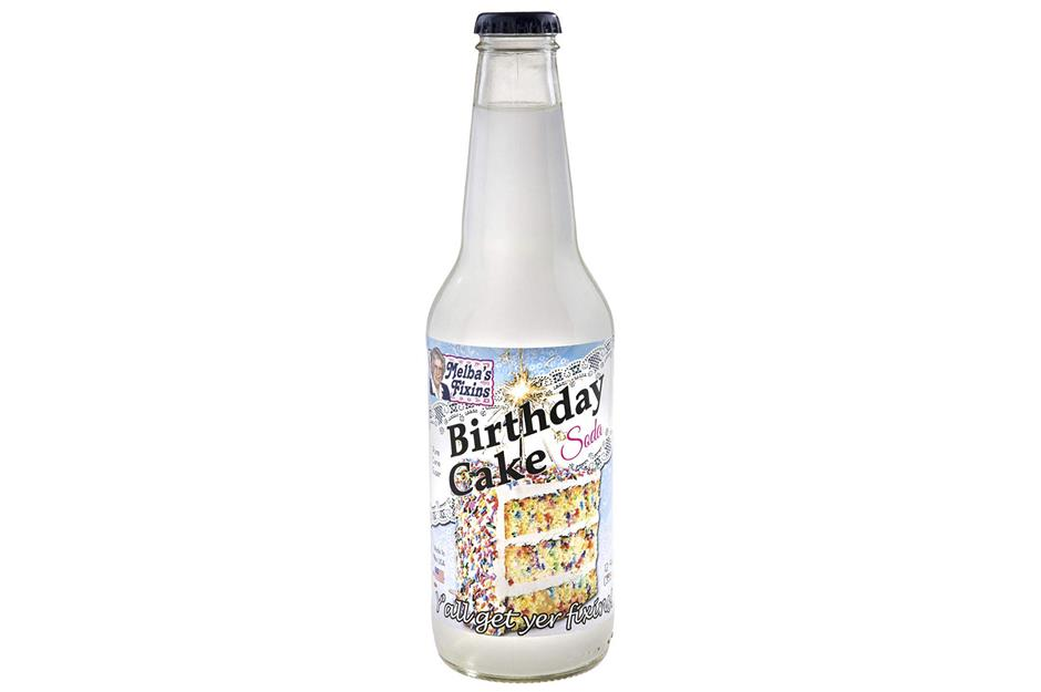 Melba's Fixins Birthday Cake Soda