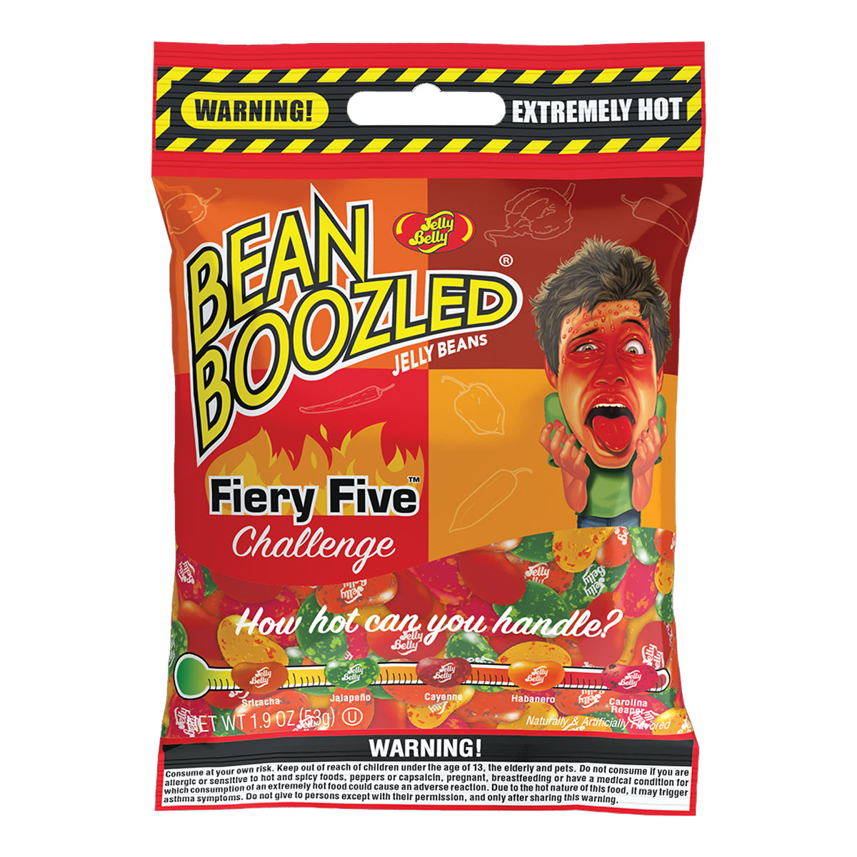 Beanboozled  Fiery Five Jelly Beans Bag