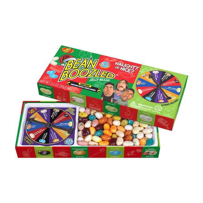 Jelly Belly BeanBoozled Naughty or Nice Spinner Gift Box