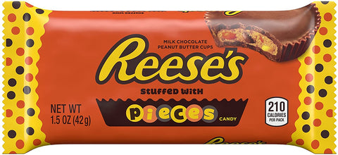 Reese's Stuffed with Pieces Peanut Butter Cups