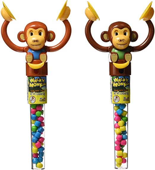 Wacky Monkey with Candy