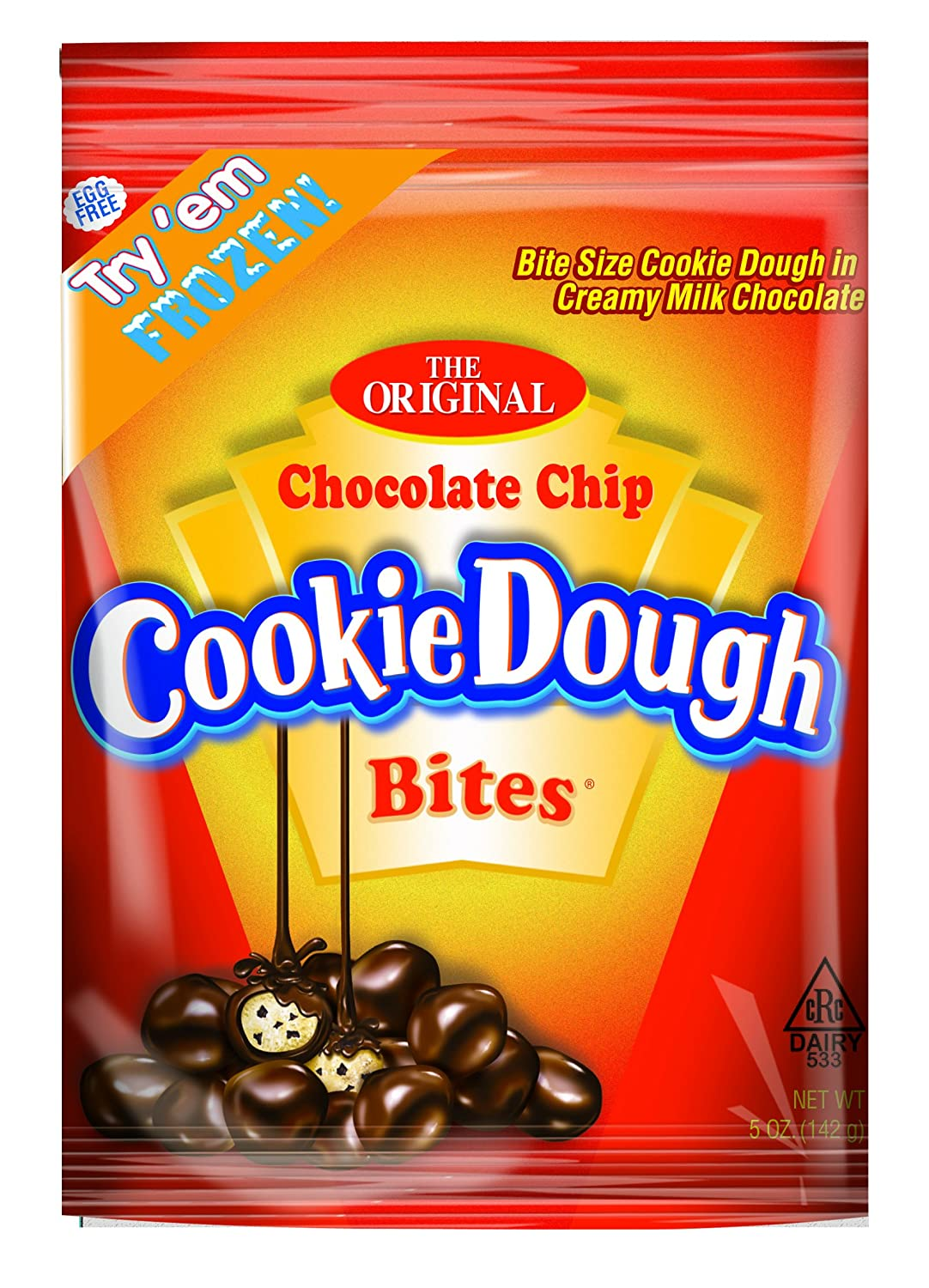 Chocolate Chip Cookie Dough Bites Bag