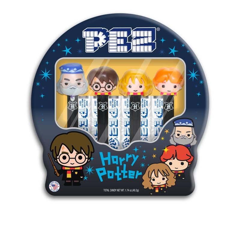 PEZ Harry Potter Collector's Tin