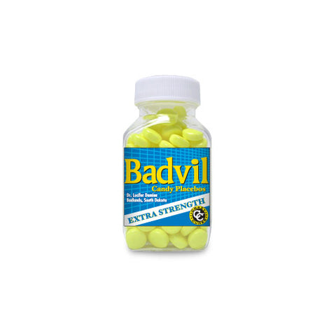 Badvil Extra Strength Candy Placebos