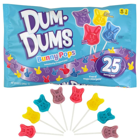 Easter Dum Dums Bunny Pops Bag