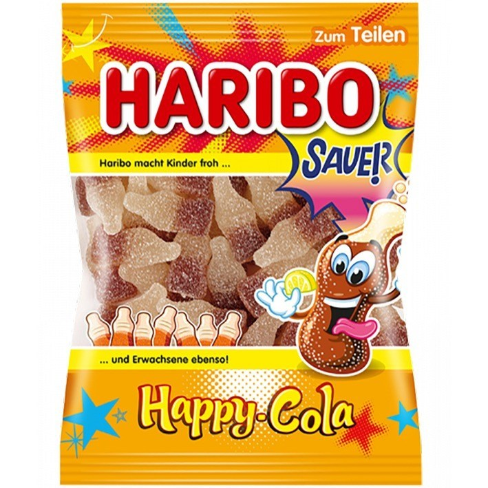 Haribo Happy Cola Sauer