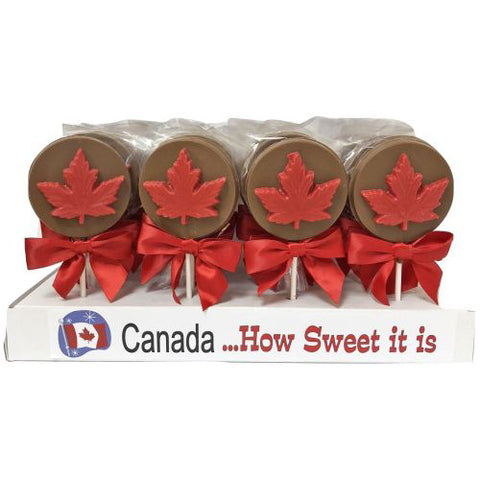 Canada Chocolate Lollipop