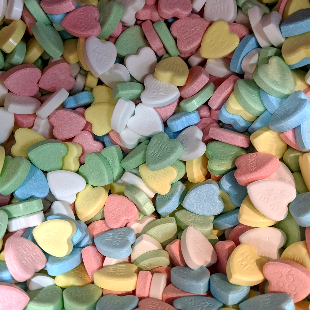 Chit Chats Conversation Hearts - 100g