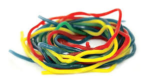 Licorice Laces Assorted - 100g