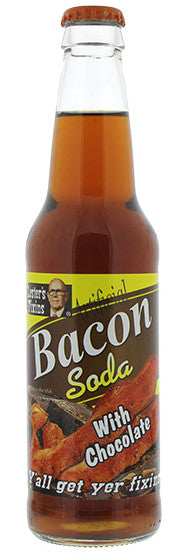 Bacon Soda with Chocolate