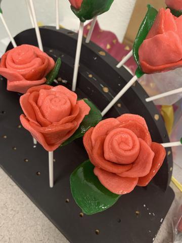 Locally Handcrafted Candy Rose
