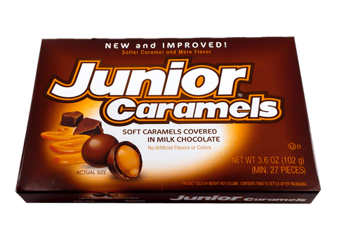 Junior Caramels Theatre Box