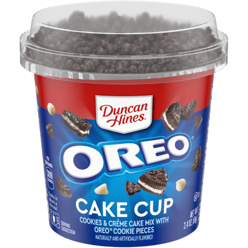Duncan Hines Oreo Cookies&Cream Cake Cup