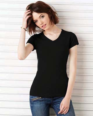 Bella 1005 - Baby Rib Short Sleeve Tee