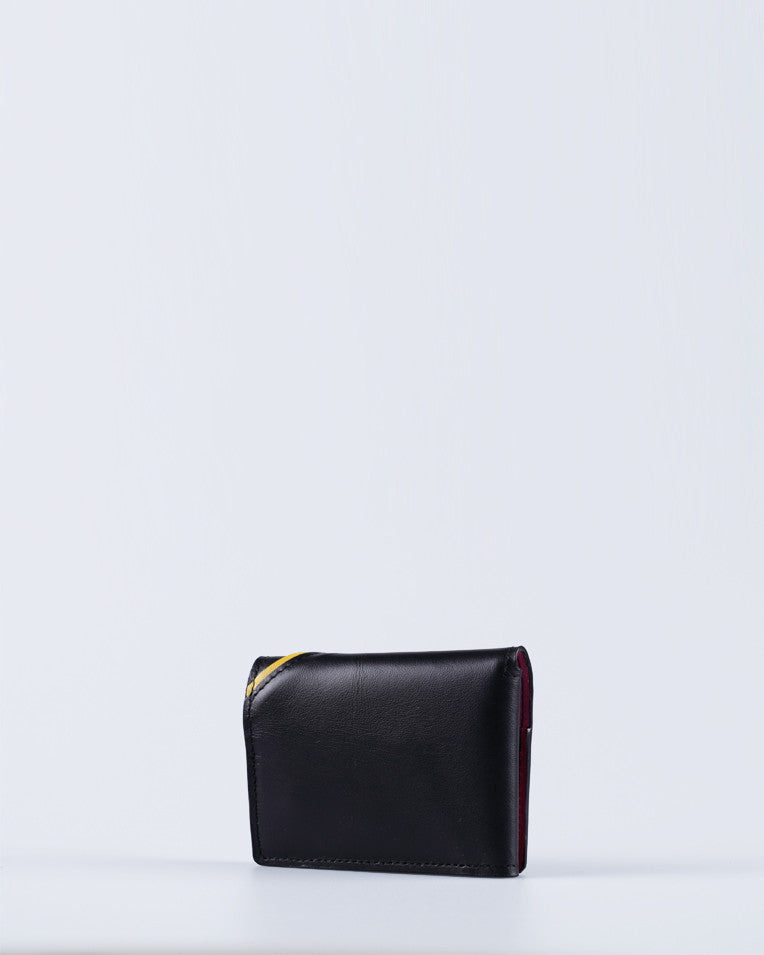 """Linea"" Card holder (Black)"