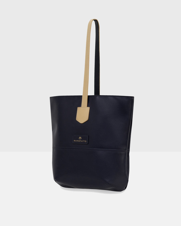 """Cozy"" Crossbody Tote Bag (Dark Navy Blue)"
