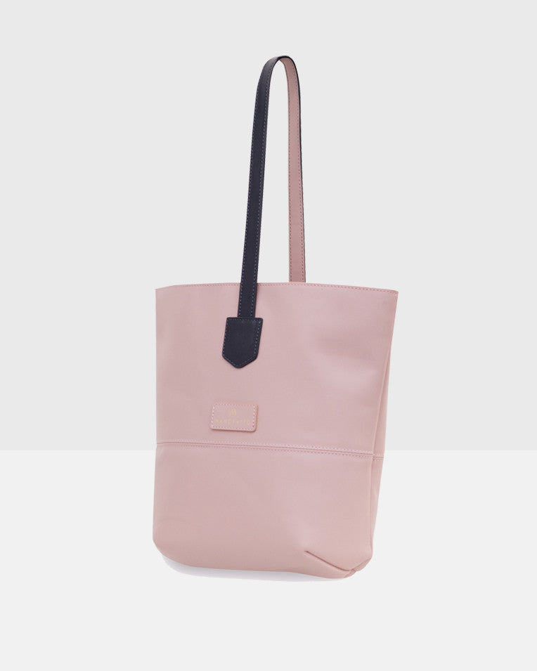 """Cozy"" Crossbody Tote Bag (Light pink)"