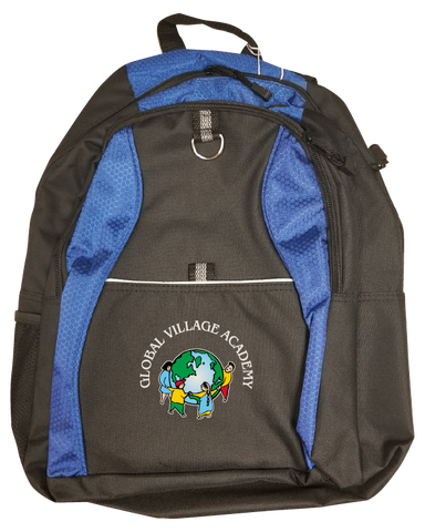 GVA Blue Backpack