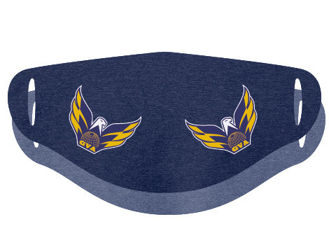 Aurora Eagles Face Covering Double Ply - 3-Pack