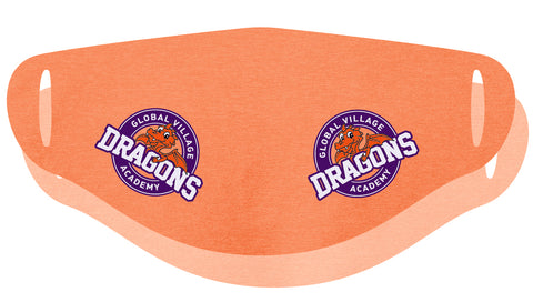 Douglas Dragons Face Covering Double Ply - 3-Pack