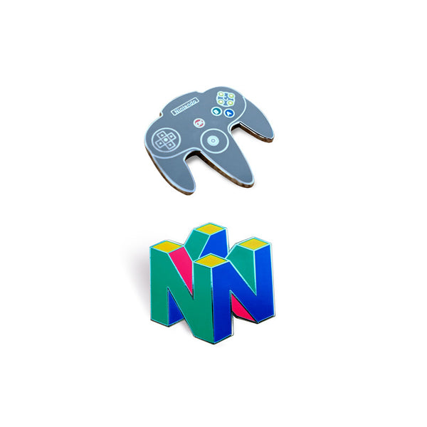N64 Lapel Pin Pack