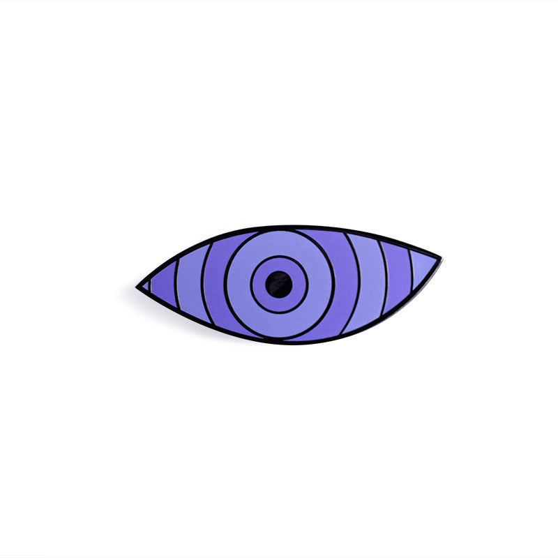 Rinnegan Eye Lapel Pin