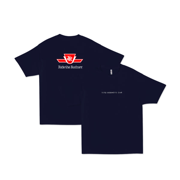 Tito Rodney's Car Shirt Navy