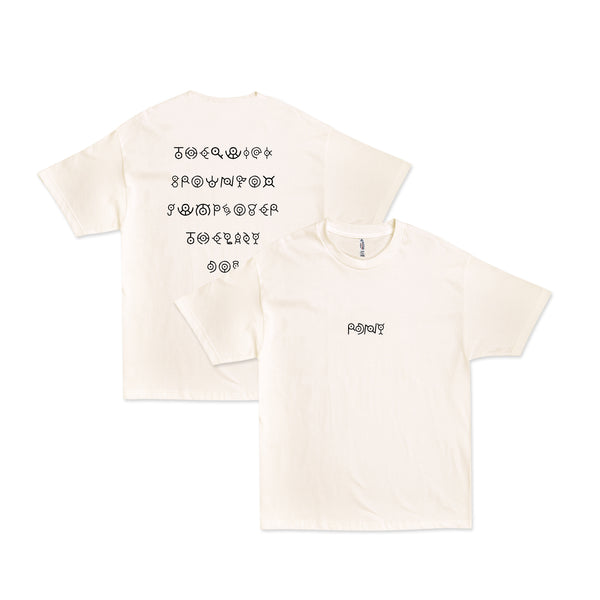 Unown Pangram Shirt Cream