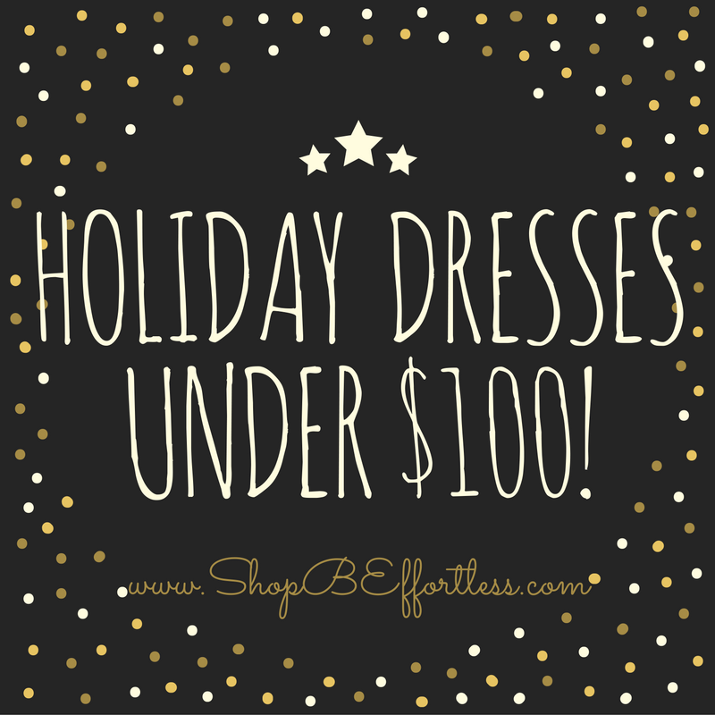 The Best Holiday Dresses UNDER $100