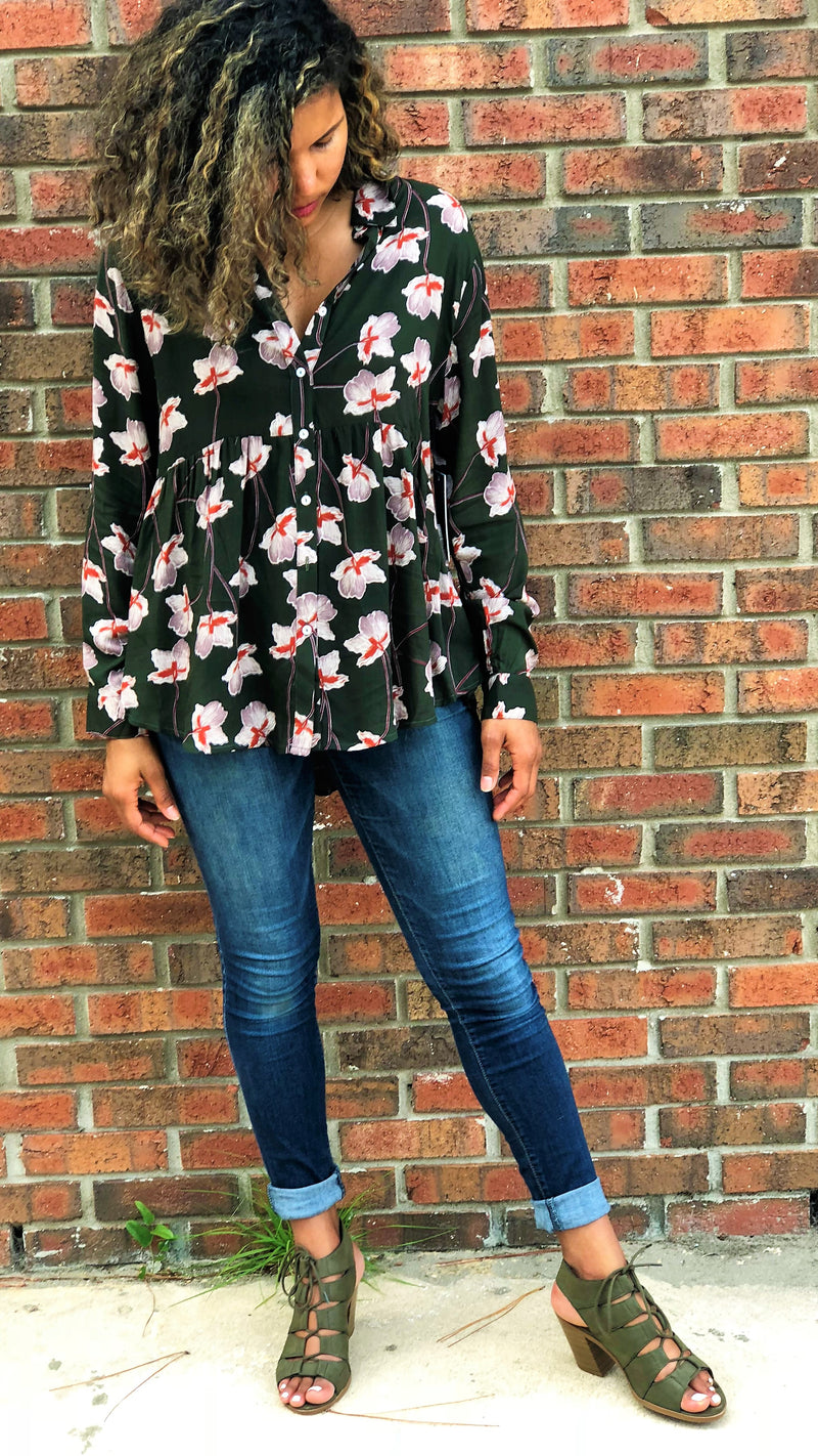 Trend Report: Fall Florals & Loose Peplums