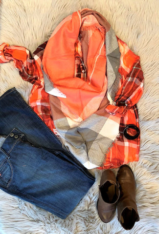 Flannels & Scarves: A Match Made In Heaven