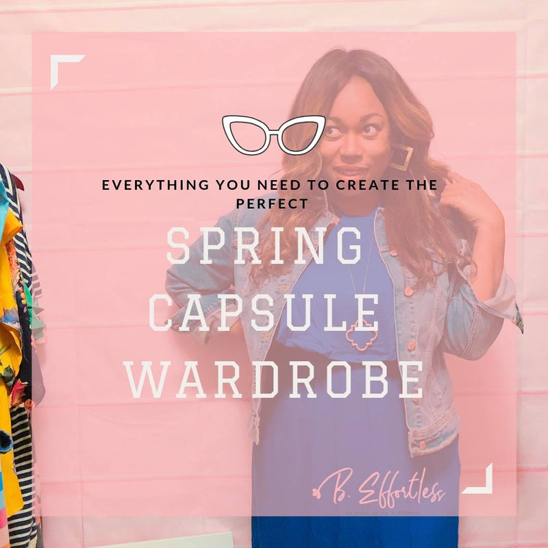 Everything You Need To Create The Perfect Spring Capsule Wardrobe