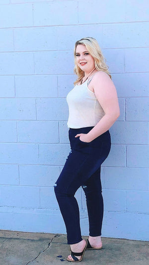 curve friendly jeggings