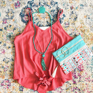 plus size coral outfit