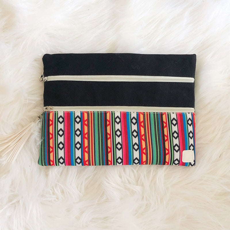 southern grace weekend in santa fe double zipper bag