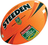 NRL Classic Touch Match Ball - Fluoro Orange