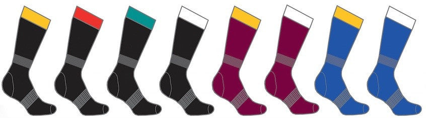 Two Colour Performance Socks