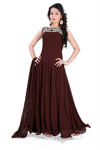 Rukhad Fashion's Kitkat Gown , Gown- Rukhad Fashion