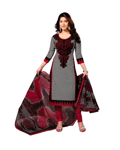 MultiColor Cotton Dress Material , DRESS MATERIAL- Rukhad Fashion