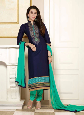 Multicolor Cambric Cotton Salwar Suit , DRESS MATERIAL- Rukhad Fashion