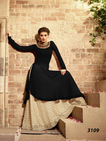 Exclusive Trendy Designer Multi Anarkali Suit , anarkali- Rukhad Fashion