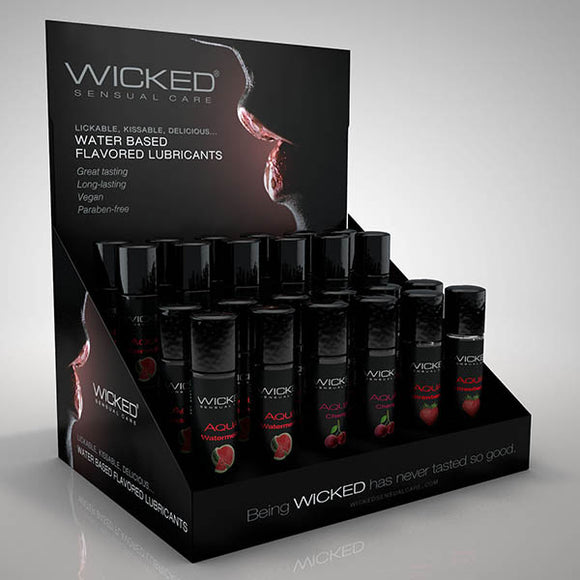Wicked Aqua Classic Flavours POP Display