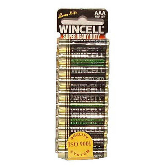 Wincell Aaa Super Heavy Duty Batteries