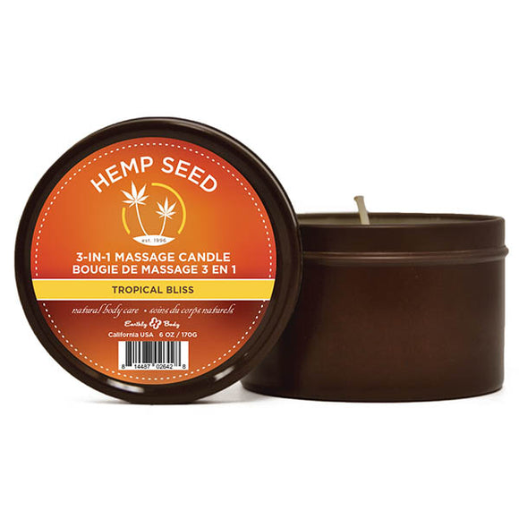 Hemp Seed 3-In-1 Massage Candle
