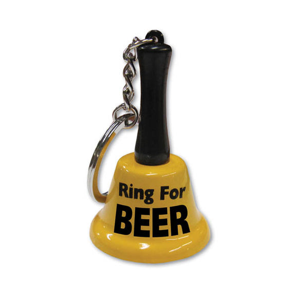 Ring For Beer Keychain Bell