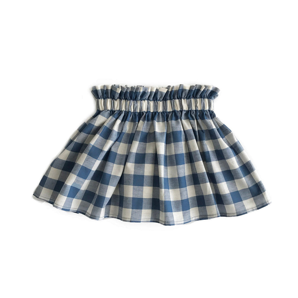 Blue Check Skirt {Limited Edition}