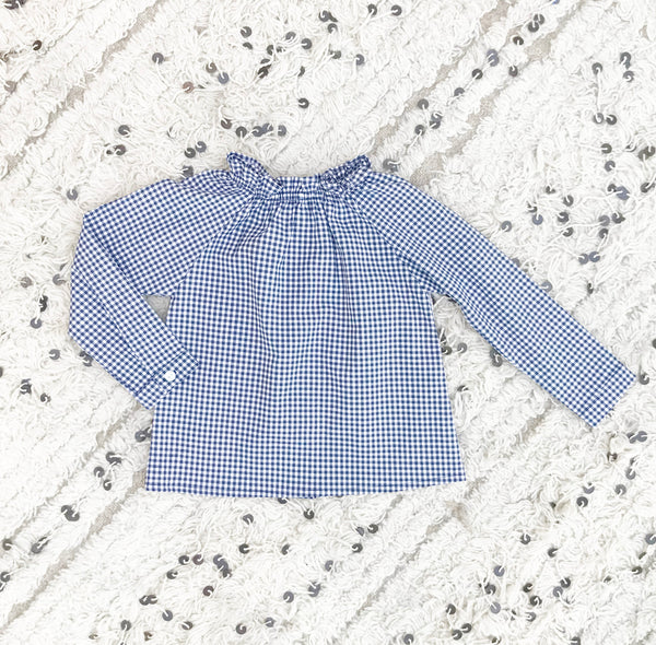 Checker Blouse